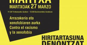 SOS Racismo 2011 Martxa