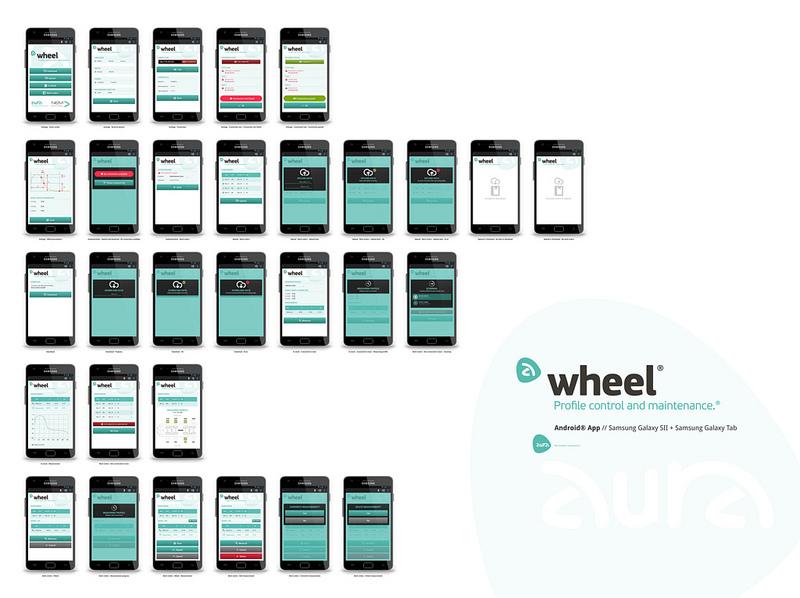 Aura // Trenen gurpilen desgastea neurtzeko Android app