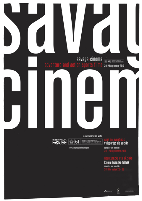 Pensando en Blanco_savage cinema: cartel