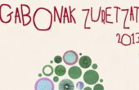 Diseño de Cartel Gabonak Zuretzat 2013