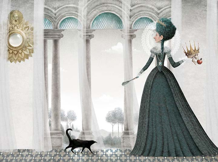 Ilustrador_Iban Barrenetxea_Blancanieves-Nørdica-Libros-20121