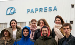 Estudiantes de Diseño Visita a Papresa