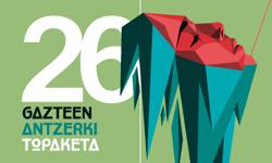 26 Gazte Antzerki Topaketa diseño de cartel