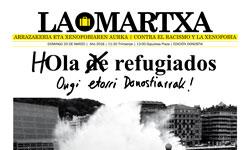 Hola de refugiados: Marcha Contra el Racismo y la Xenofobia 2016