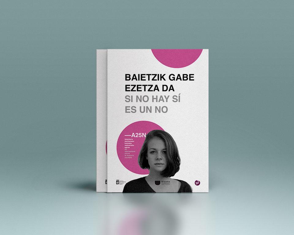 Clara Schmidt Campaña de comunicación para el 25 de Noviembre Dia internacional contra la violencia machista