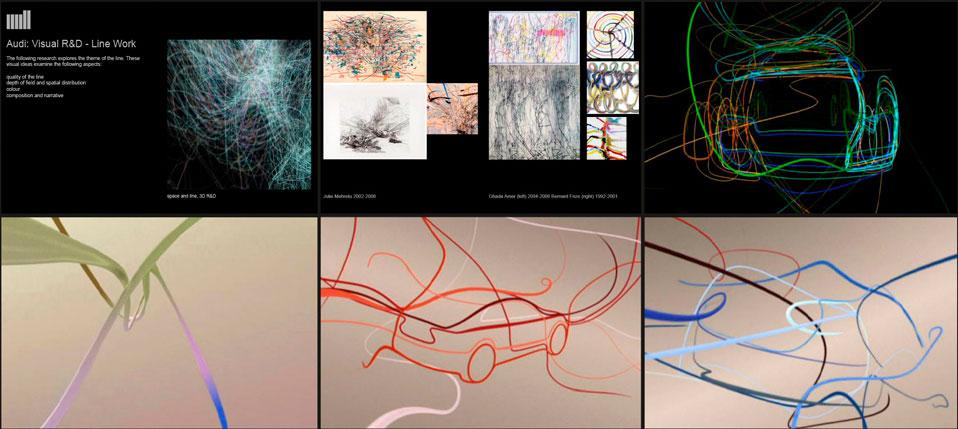 Audi: Visual R&D - TheMill - Ross Urien