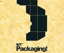 Cartel expo packaging colaboración Loreak Mendian y Ciclo Formativo de Grado Superior en Gráfica Publicitaria
