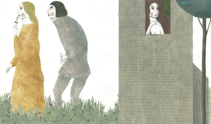 La Celestina ilustración de Elena Odriozola