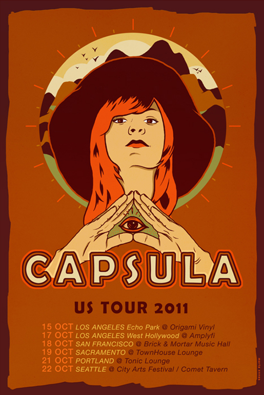 Ilustración y diseño de Marta Ennes: CAPSULA