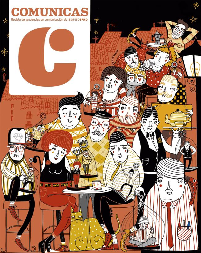 Amaia Arrazola ilustración: Comunicas Magazine