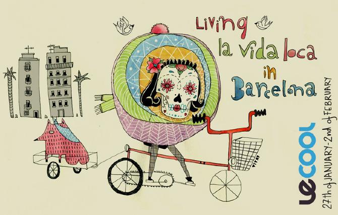Amaia Arrazola ilustración: LeCool Barcelona