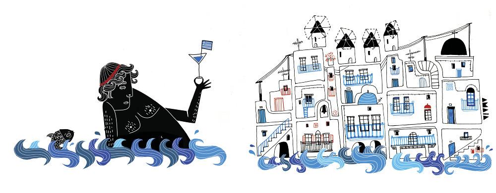 Amaia Arrazola ilustración: Ling Magazine 2011