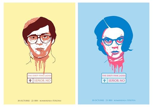 Ilustración y diseño de Marta Ennes: SEÑOR NO