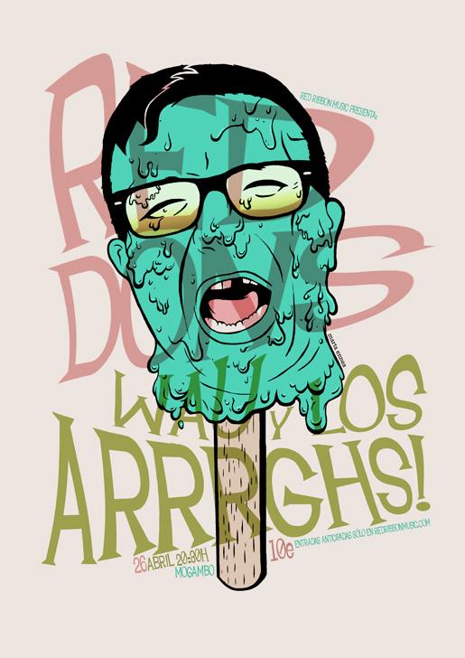 Ilustración y diseño de Marta Ennes: RED DONS, WAU Y LOS ARRRGHS