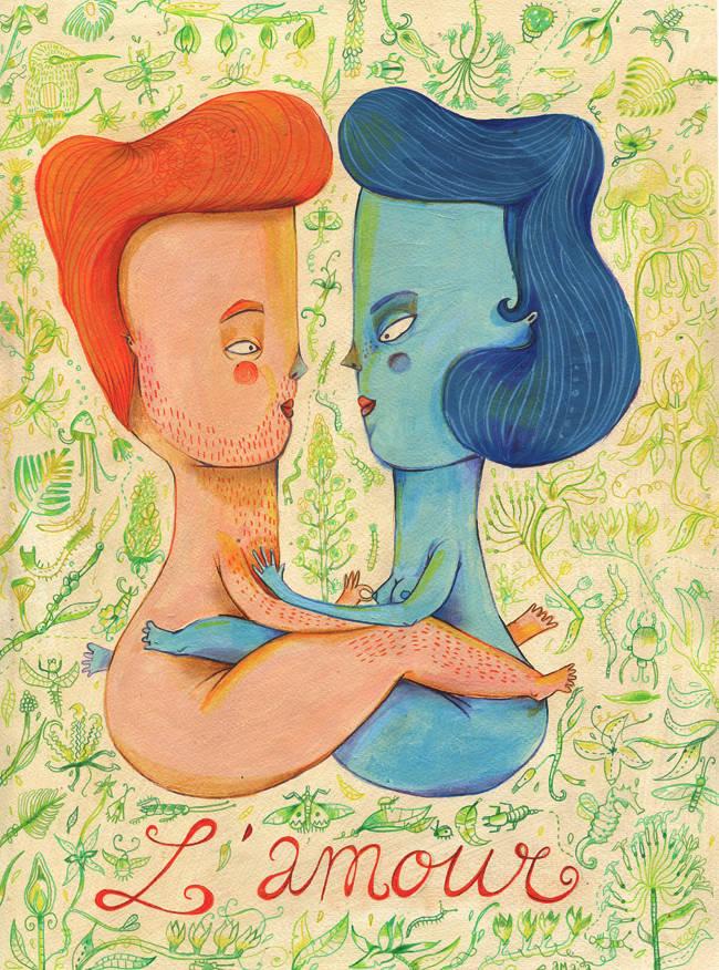 Amaia Arrazola ilustración: lamour