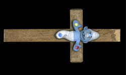 Blami entrevista pitufo crucificado