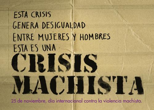 CRISIS MACHISTA general