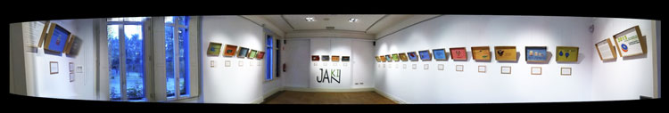 Jakin Calendario sostenible panorámica exposición Cristina Enea
