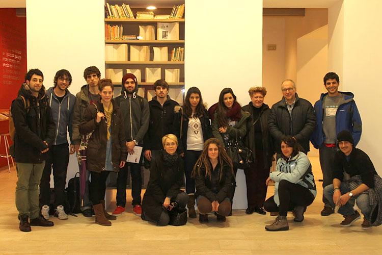 Exposicion-Amable-Arias-en-el-Koldo-Mitxelena: Foto de grupo