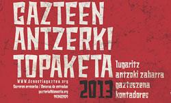 25 Gazte Antzerki Topaketak Diseño de cartel seleccionado
