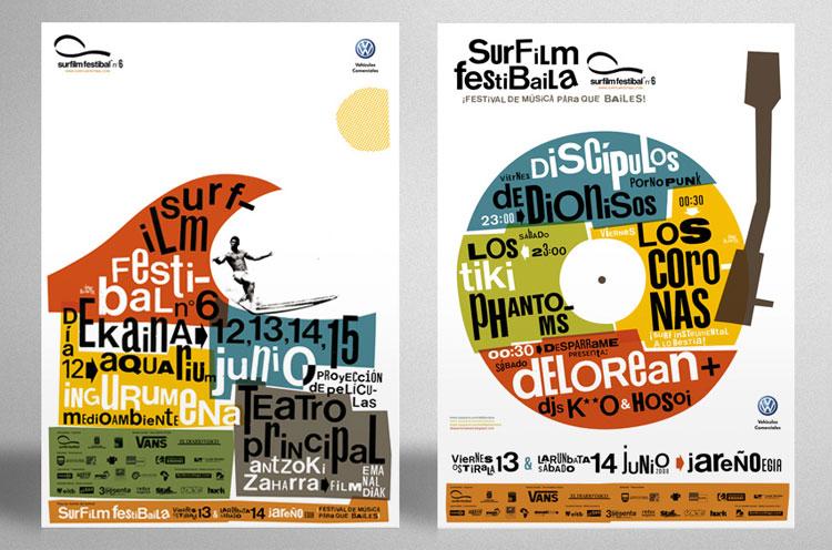 Carteles Primo Surf Film Festival