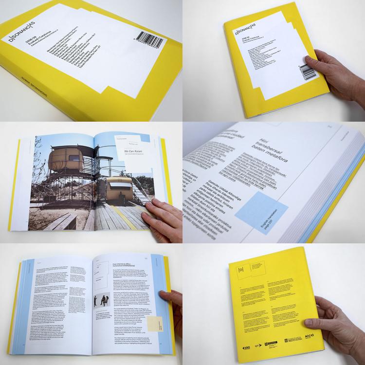 Joaquín Gañez: Diseño publicación Disonancias