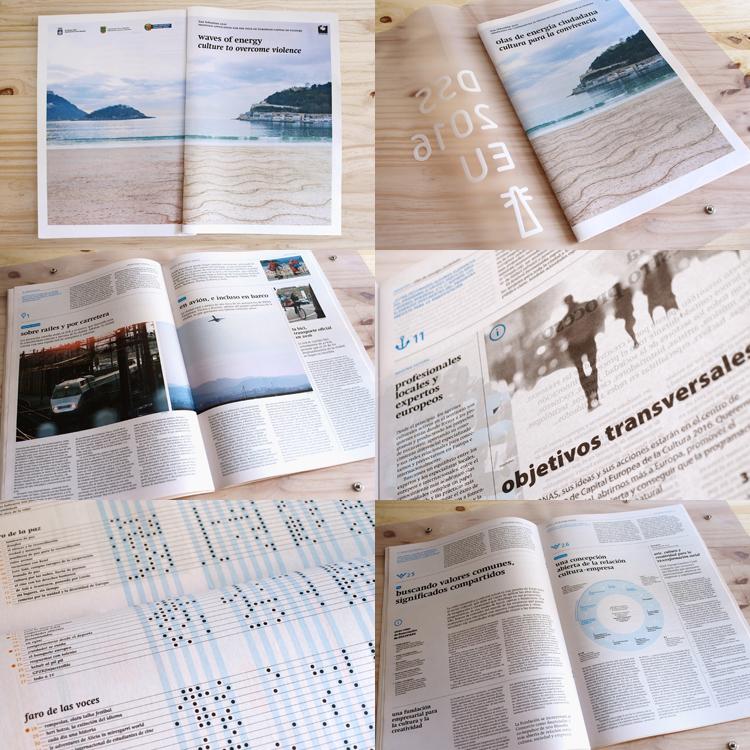Joaquín Gañez: Diseño editorial revista DSS2016