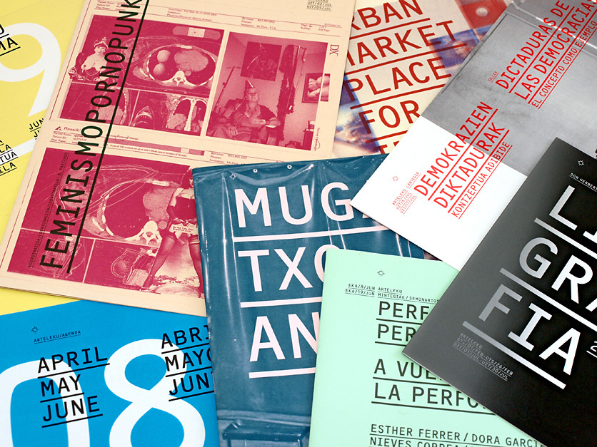 Joaquín Gañez: Diseño publicación para la exposición electrones libres en Tabakalera