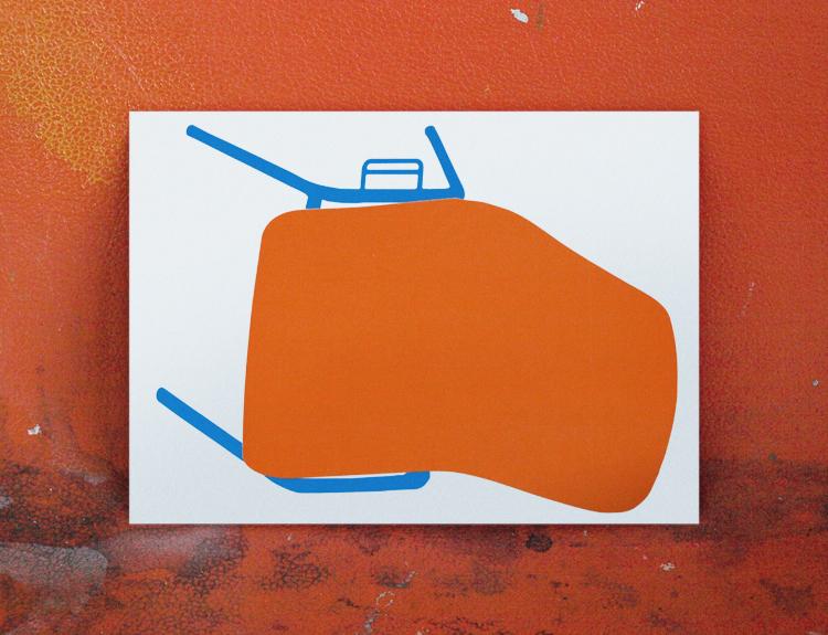 Joaquín Gañez: Diseño postal arteleku