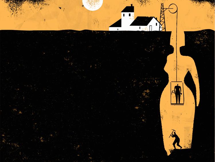 Iker Ayestaran: ilustrazioa, ilustración: mujeres mineria