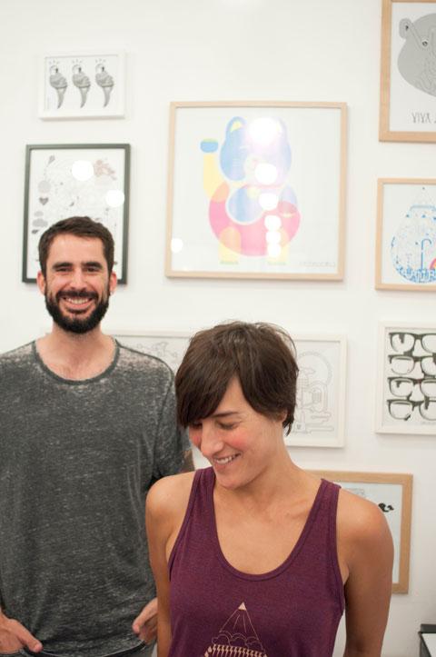 diseño e ilustración viva la vida: Leire y Marc