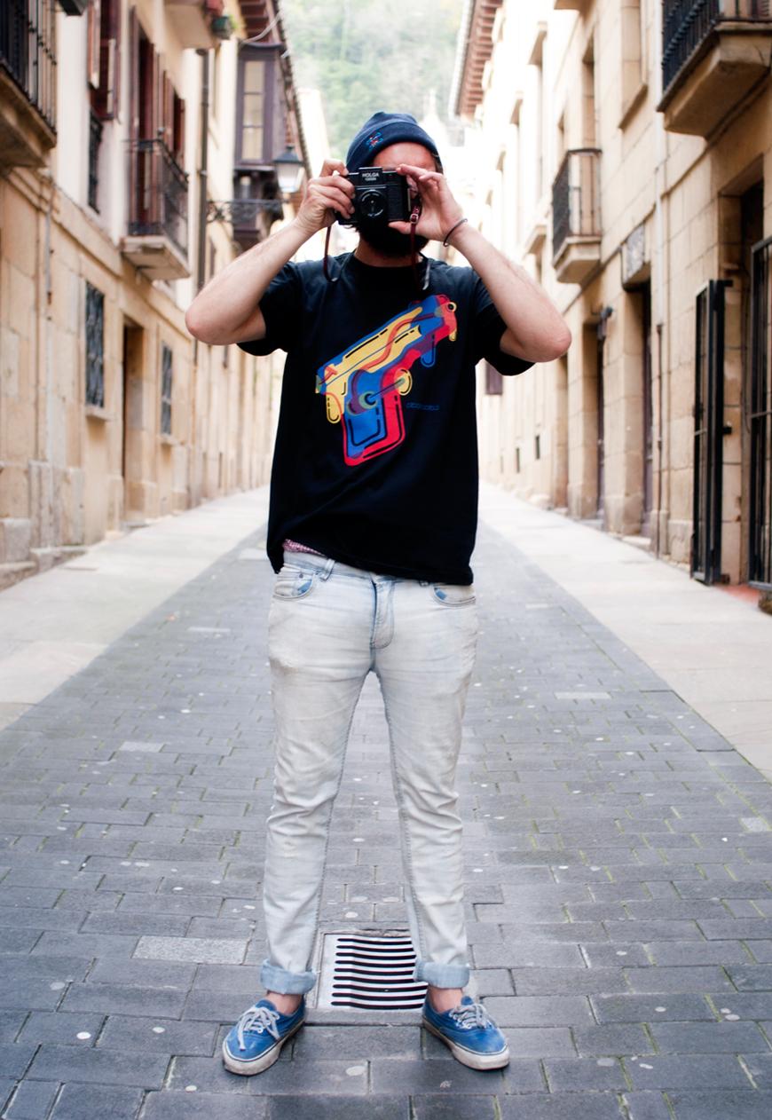 diseño e ilustración viva la vida: camiseta