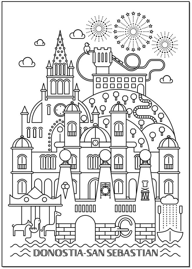 diseño e ilustración viva la vida: casa