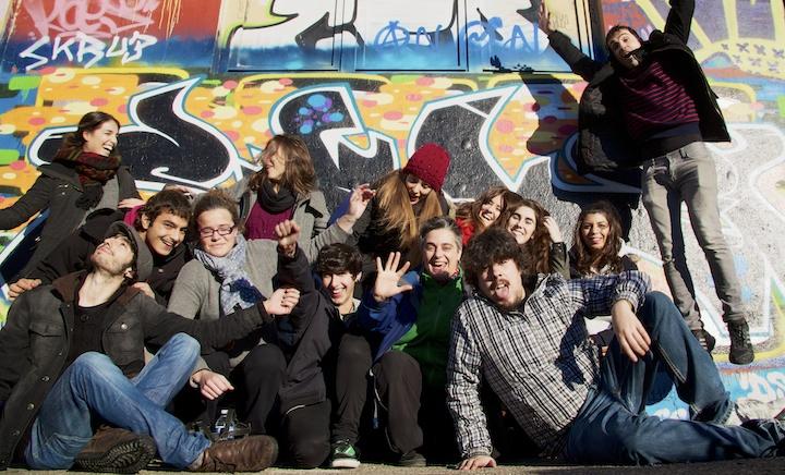 Arteleku: foto de grupo 1º curso de Gráfica Publicitaria Usandizaga