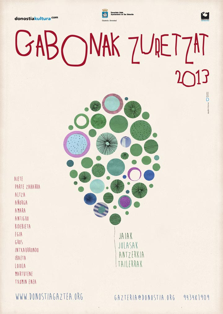 Gabonak Zuretzat Cartel 2013