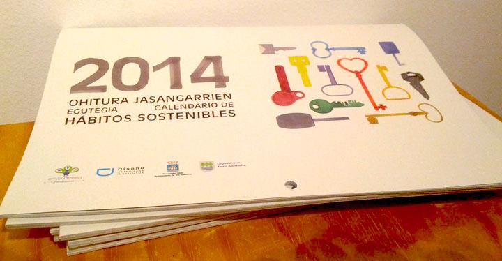 ohitu: calendario de los habitos sostenibles