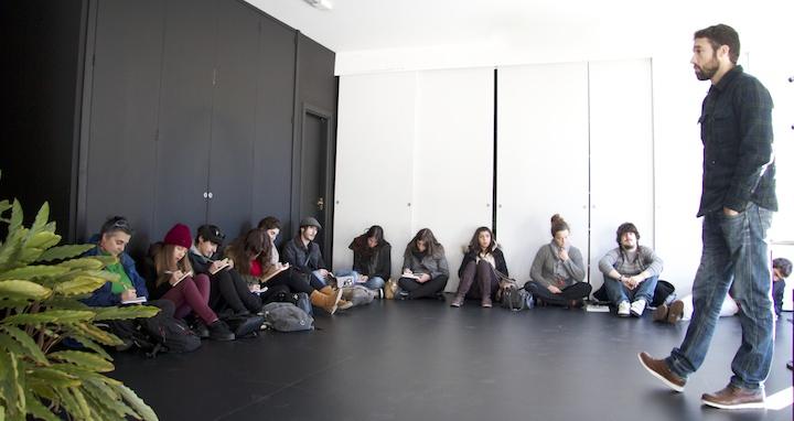 the balde: foto de grupo 1º curso de Gráfica Publicitaria Usandizaga