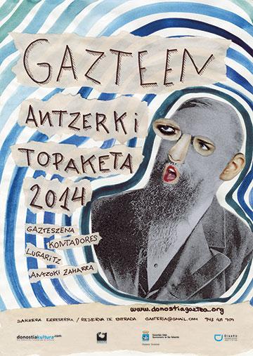 26 Gazteen Antzerki Topaketak Cartel Sandra Garayoa