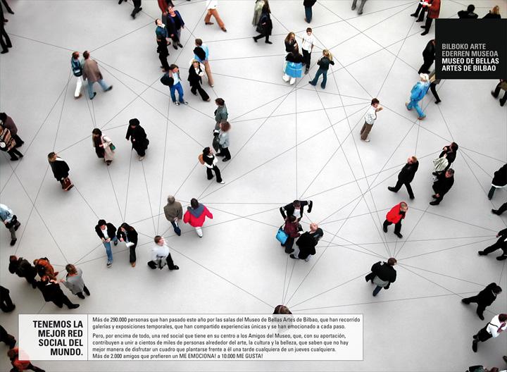 Herederos de Rowan: red de amigos, Museo de Bellas Artes de Bilbao.