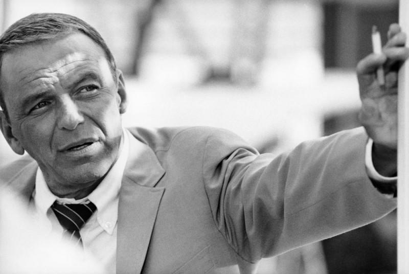 Frank_Sinatra Miami1968 esposición  Terry O´Neill Ciclo de Gráfica Publicitaria