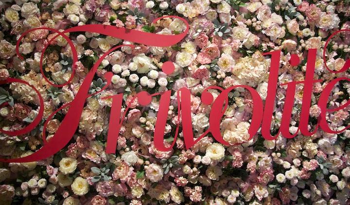 esposición moda Frivolite en San Telo, visita del Ciclo de Gráfica Publicitaria