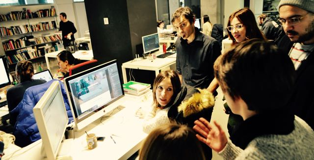 Visita a Overalia aprendiendo Diseño Web con Amaia Asensio