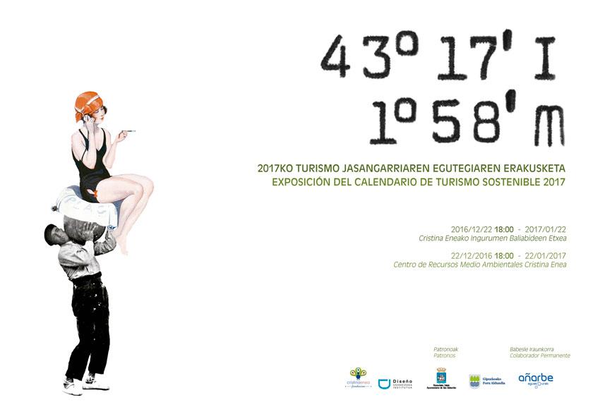 cartel exposición Calendario Turismo Sostenible 2016