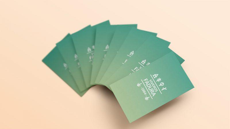 tarjetas diseño por Marina y Goñi