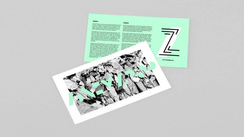 zinemapop papeleria diseño por Marina y Goñi