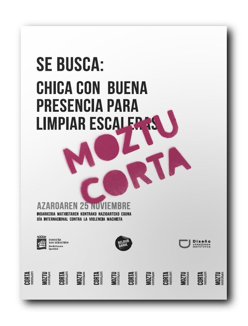 Moztu / Corta campaña de comunicación contra la Violencia Machista