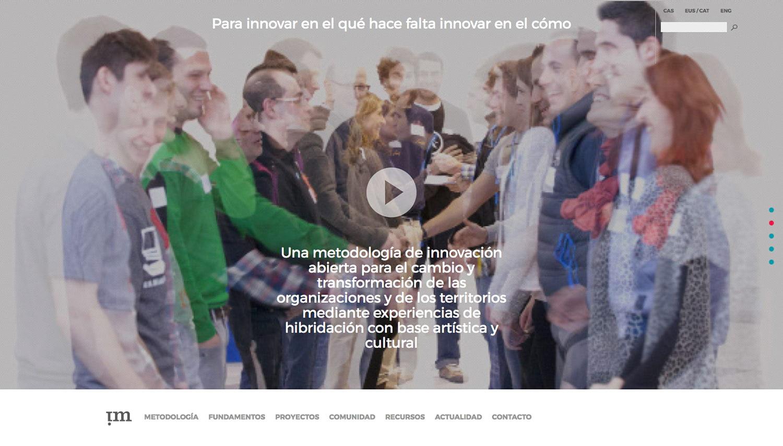 ideolab diseño de la web de conexiones improbables