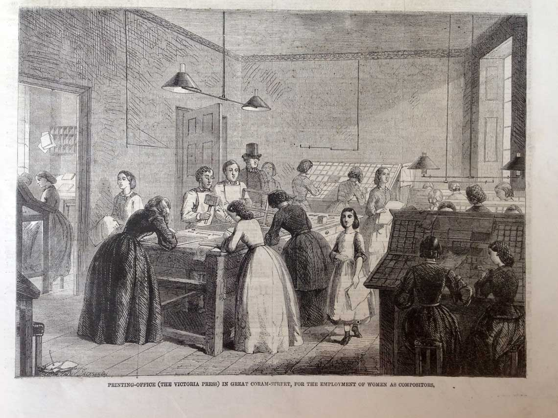 Victoria Press room