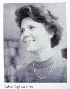 Gudrun Zapf von-Hesse