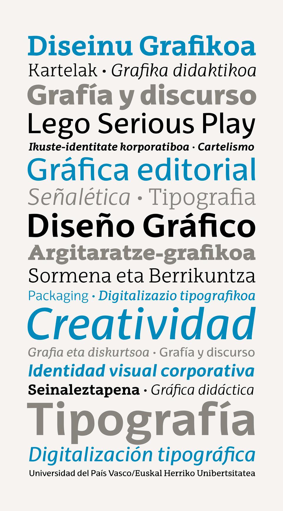 EHU Font Especimen